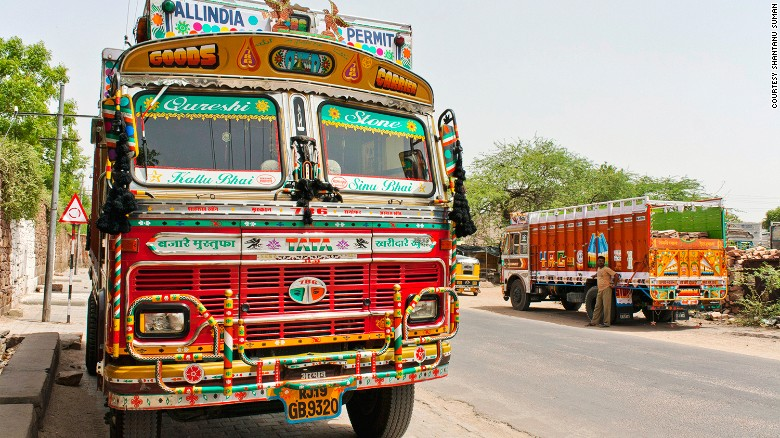 Inde camion