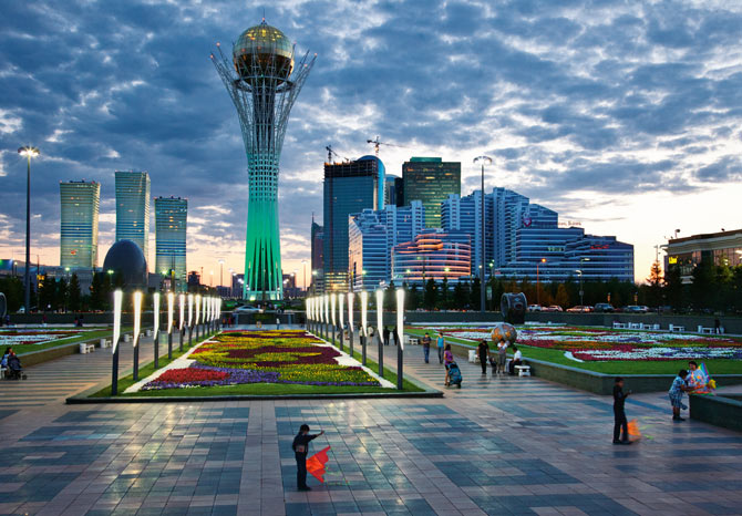 capitale du Kazakhstan