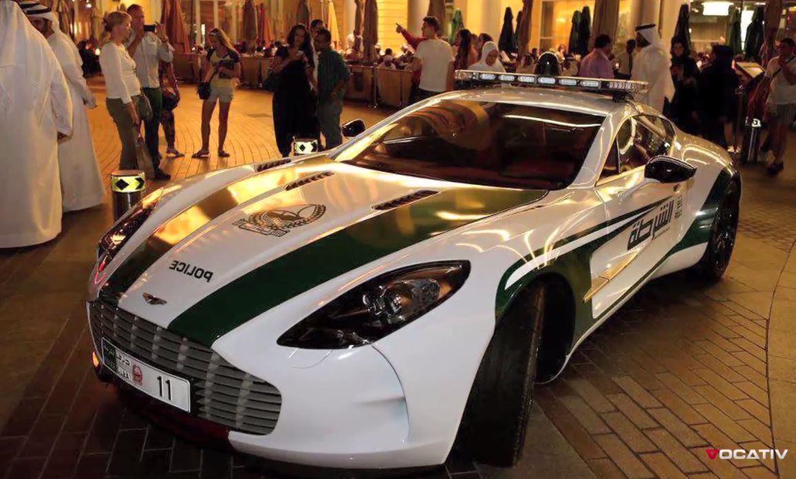 Voiture police de Dubaï