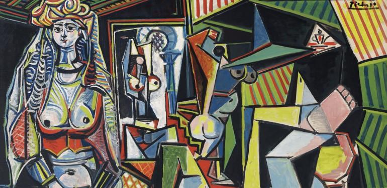 Les Femmes d'Alger par Pablo Picasso