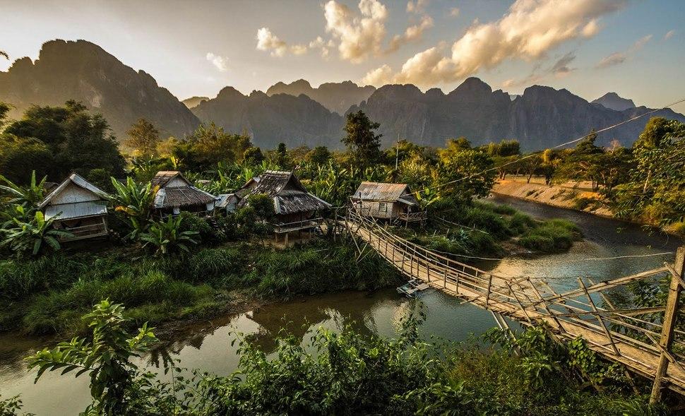 Vang Vieng, au Laos