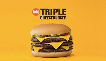 triple cheeseburger mcdonald's