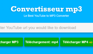 convertisseur de musique MP3 via Youtube