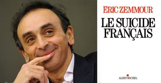 Eric Zemmour top vente