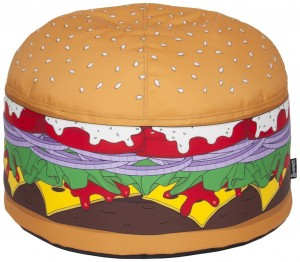 Pouf Hamburger