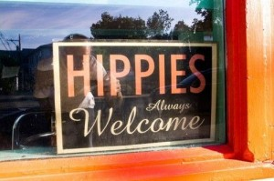welcome hippie