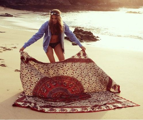 Goa Girl hippie