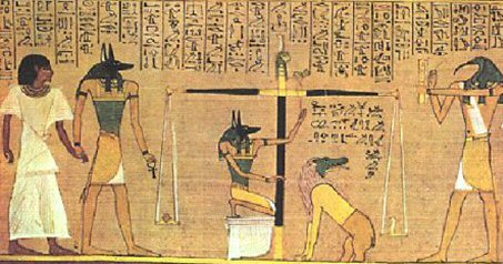 Papyrus egyptien antique