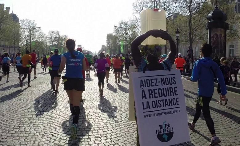 Siabatou Sanneh marathon de Paris 2015