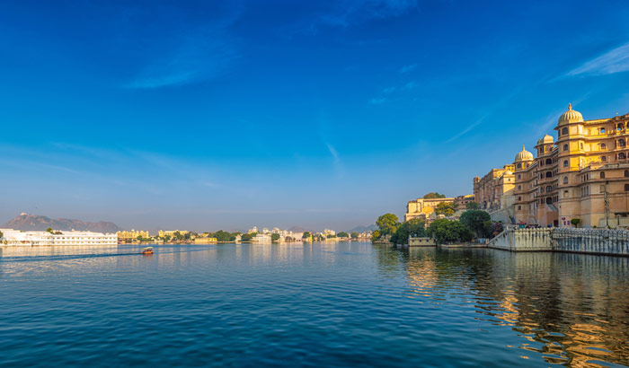 La land des Guerriers et City of Lakes - Udaipur