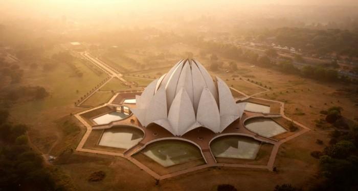 La réponse de l'Inde à l'Opéra de Sydney - Lotus Temple