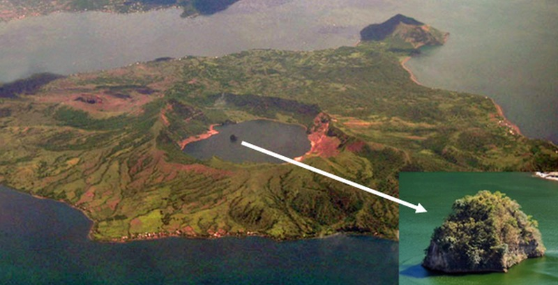 Taal Volcano Islande aux philippines
