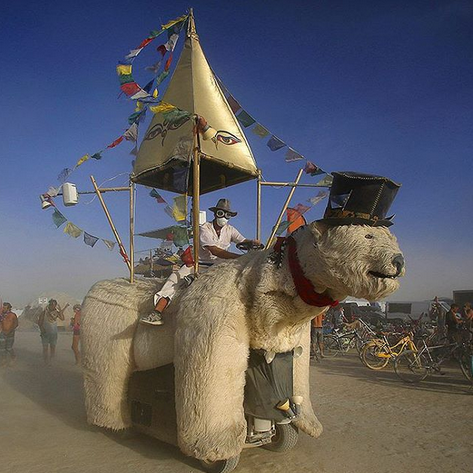 Reportage burning man france 5