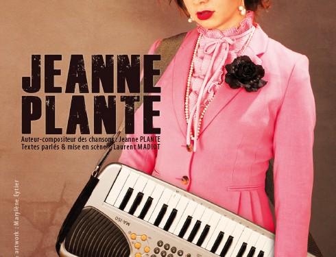 affiche jeanne plante