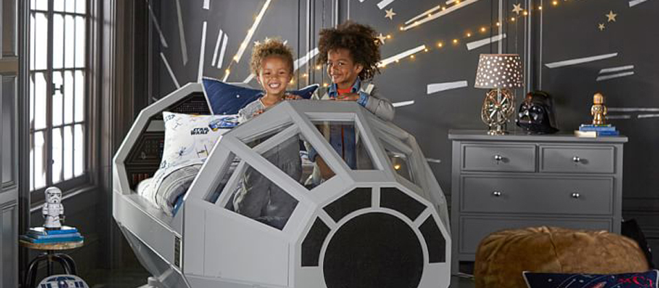 star wars un lit faucon millenium pour vos bambins le petit shaman. Black Bedroom Furniture Sets. Home Design Ideas