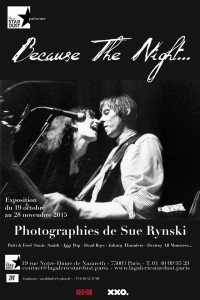 Because the night galerie Stardust