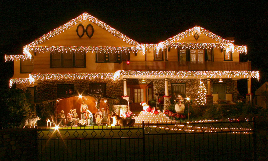 Décoration maison pour Noël