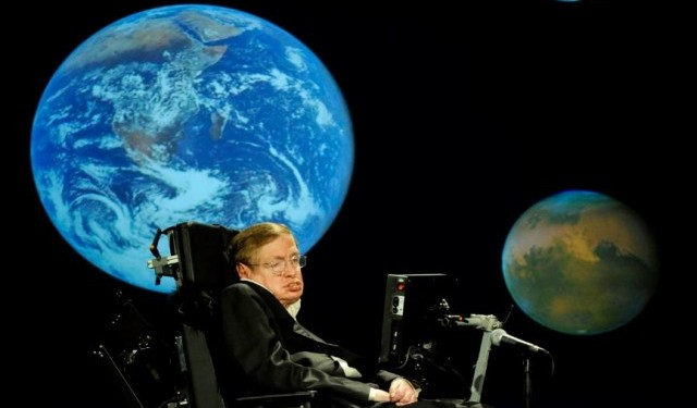 Stephean Hawking physicien