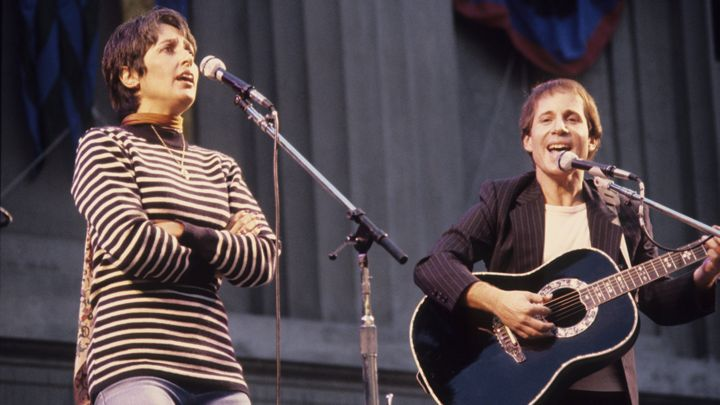 Joan Baez et Paul Simon