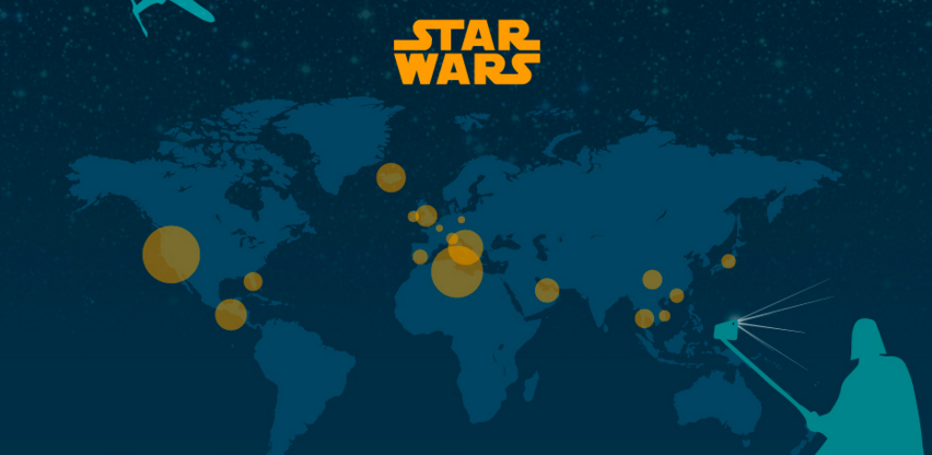Star wars infographie