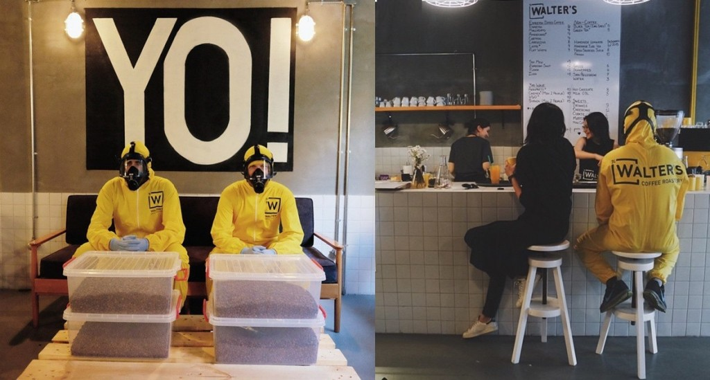 Breaking Bad café