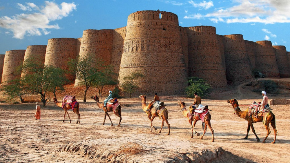 Derawar Fort au Pakistan