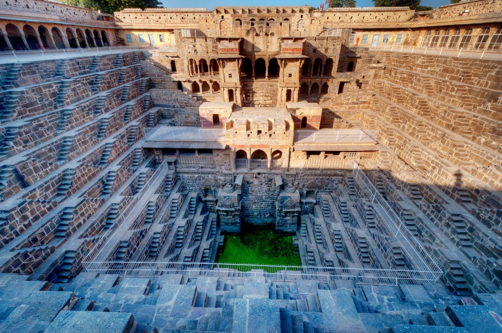 Les escaliers Chand Baori