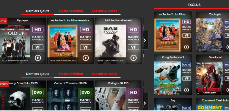site de streaming pour iphone gratuit
