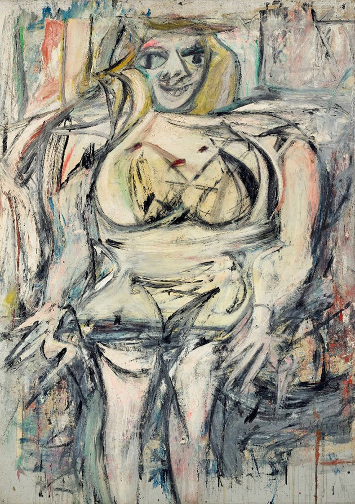 Woman 3 par Willem de Kooning