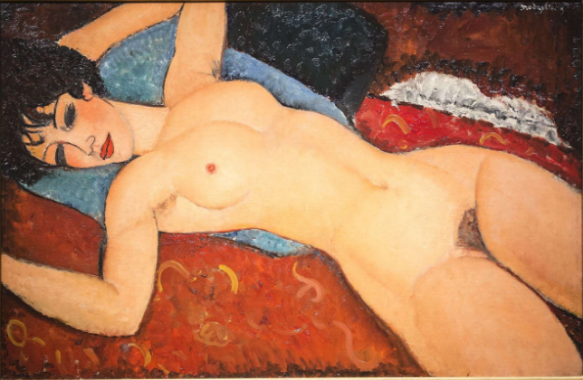 Nu couché par Amedeo Modigliani