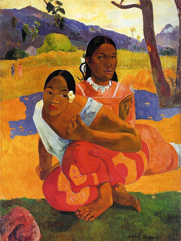 Quand te maries-tu par Paul Gauguin