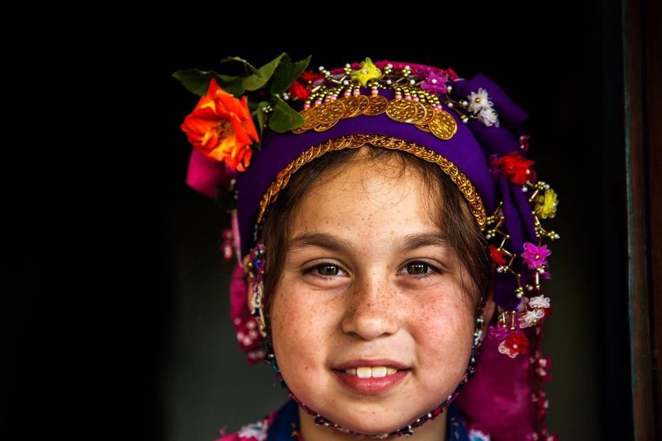 Les yeux des enfants à travers le monde