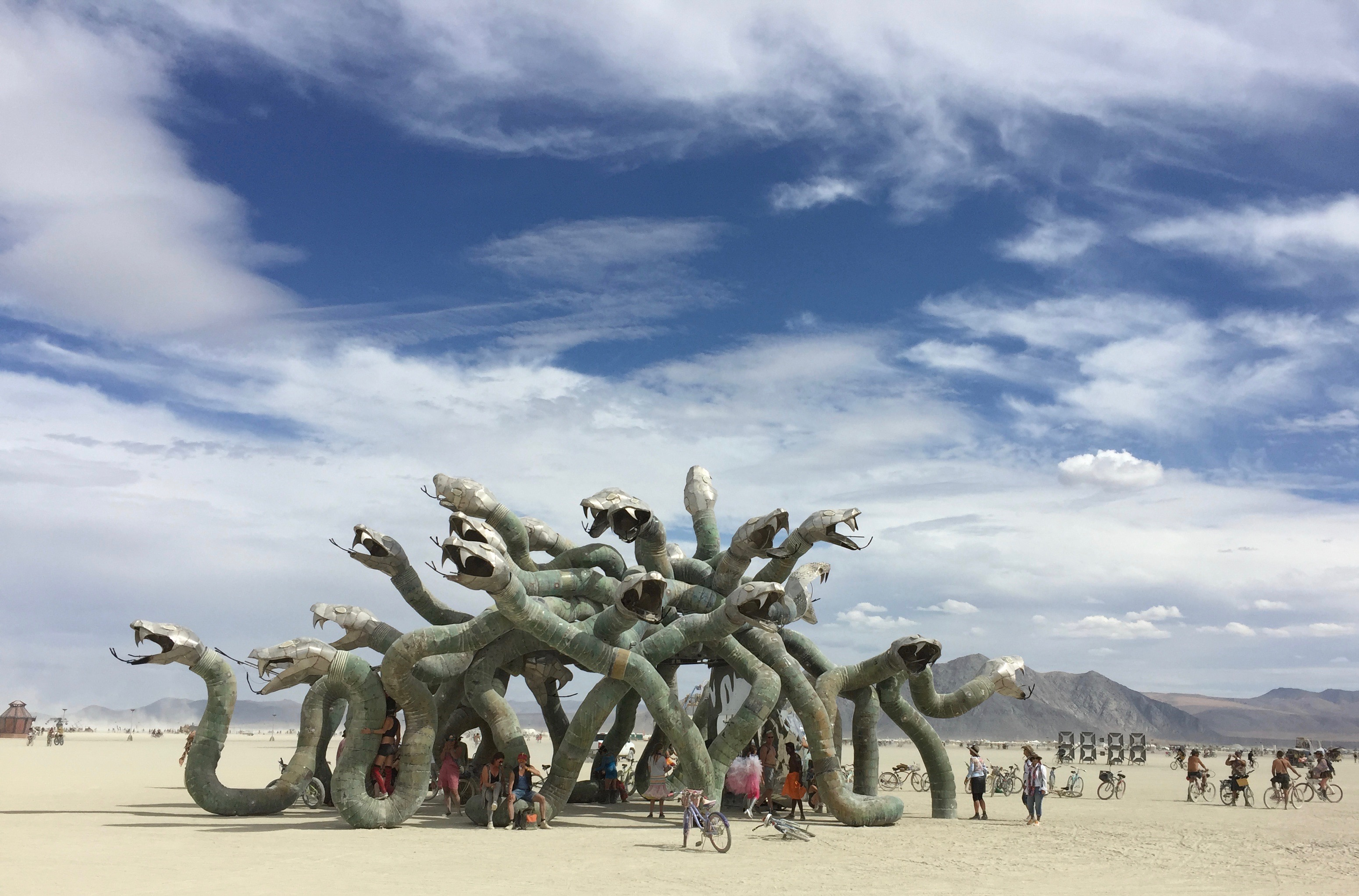 Burning man 2016 photographie