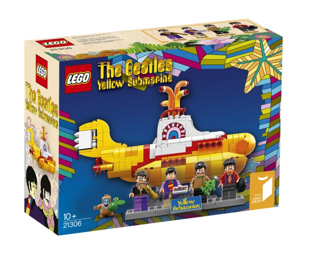 Yellow Submarine des Beatles en jouet lego
