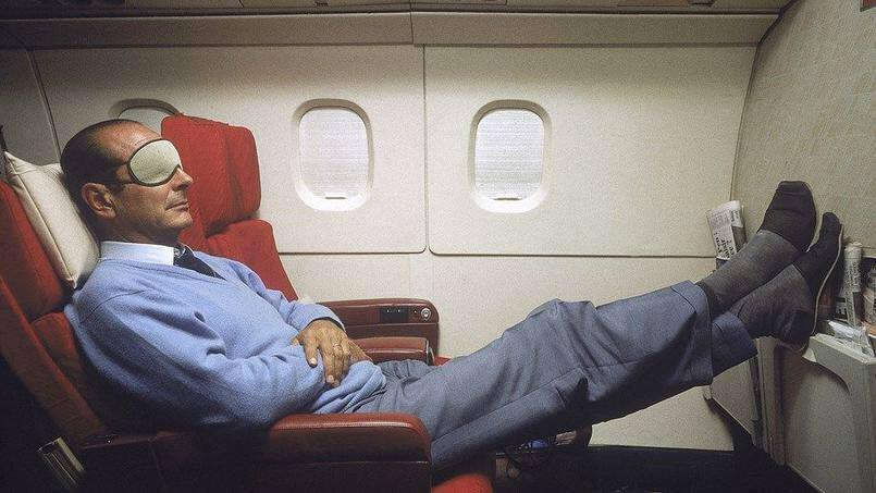 Jacques Chirac photo amusante