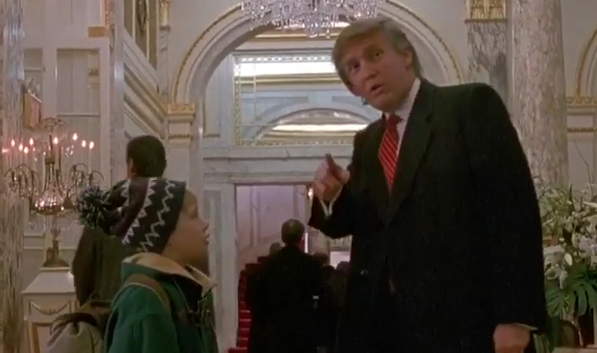 film donald trump maman j'ai raté l'avion