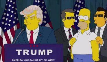 Trump dans les simpson