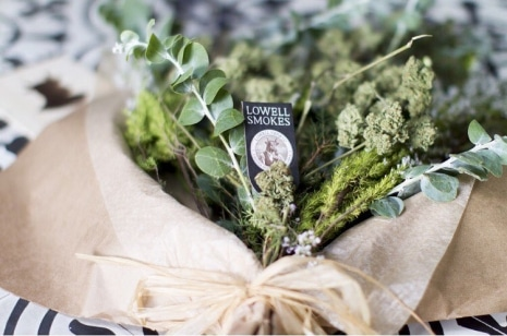 La livraison de bouquet floral de cannabis en Californie