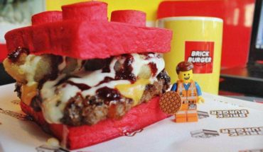 Le hamburger en brick Lego