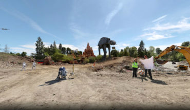 parc d'attraction Star Wars Disney