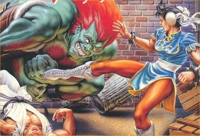 Street fighter old pic