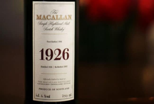 1926 Macallan Fine Collection