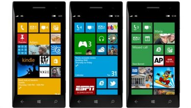 fin windows phone OS 7.5 8