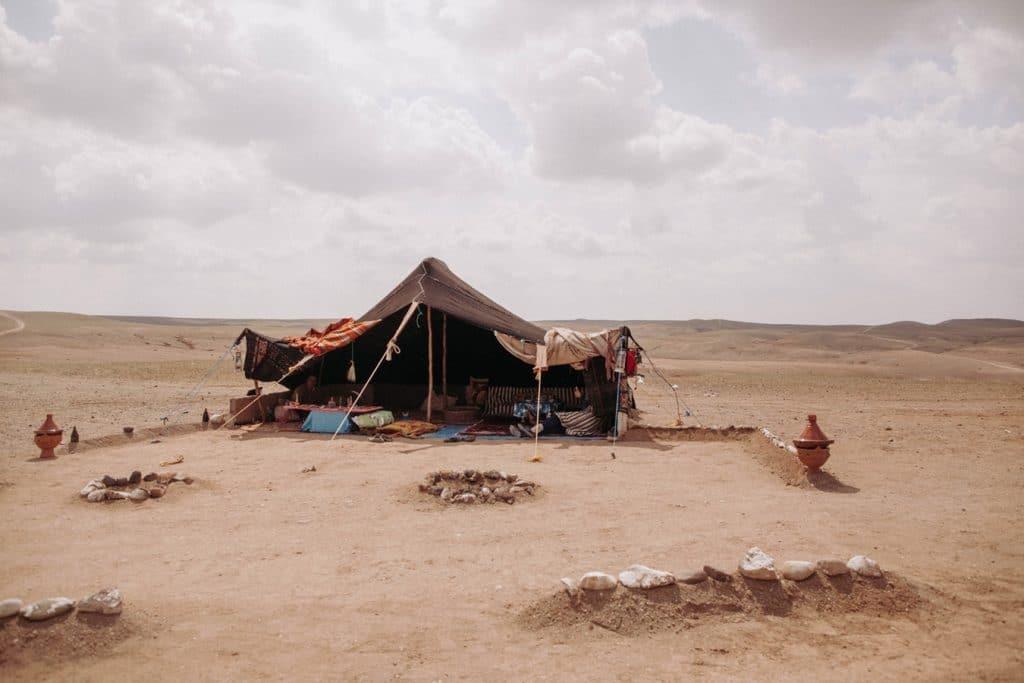 atypique désert de Agafay