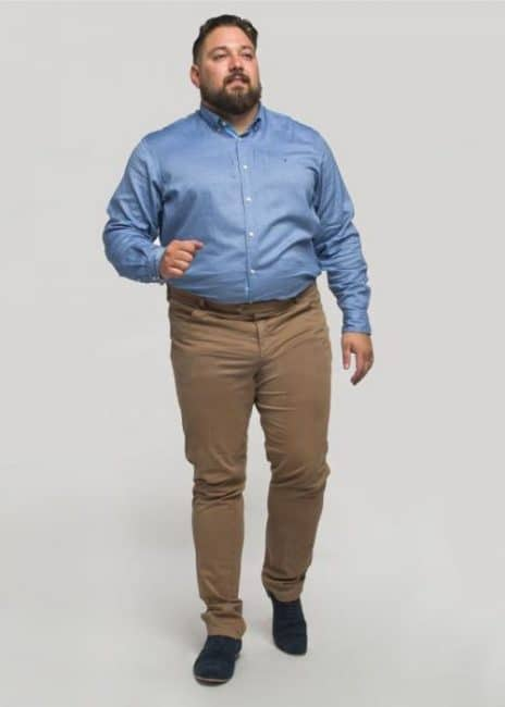 grande taille chino homme