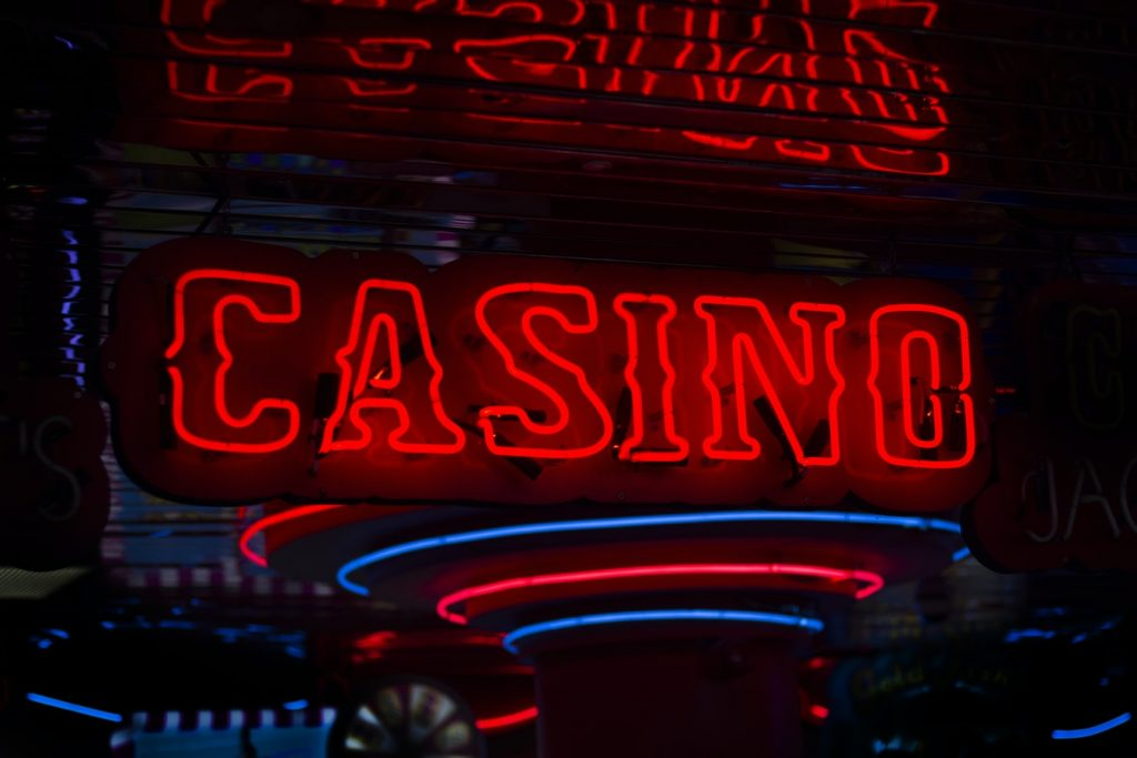 led lettre casino