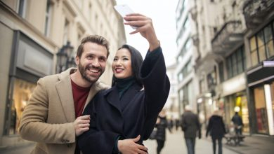 couple goal selfie